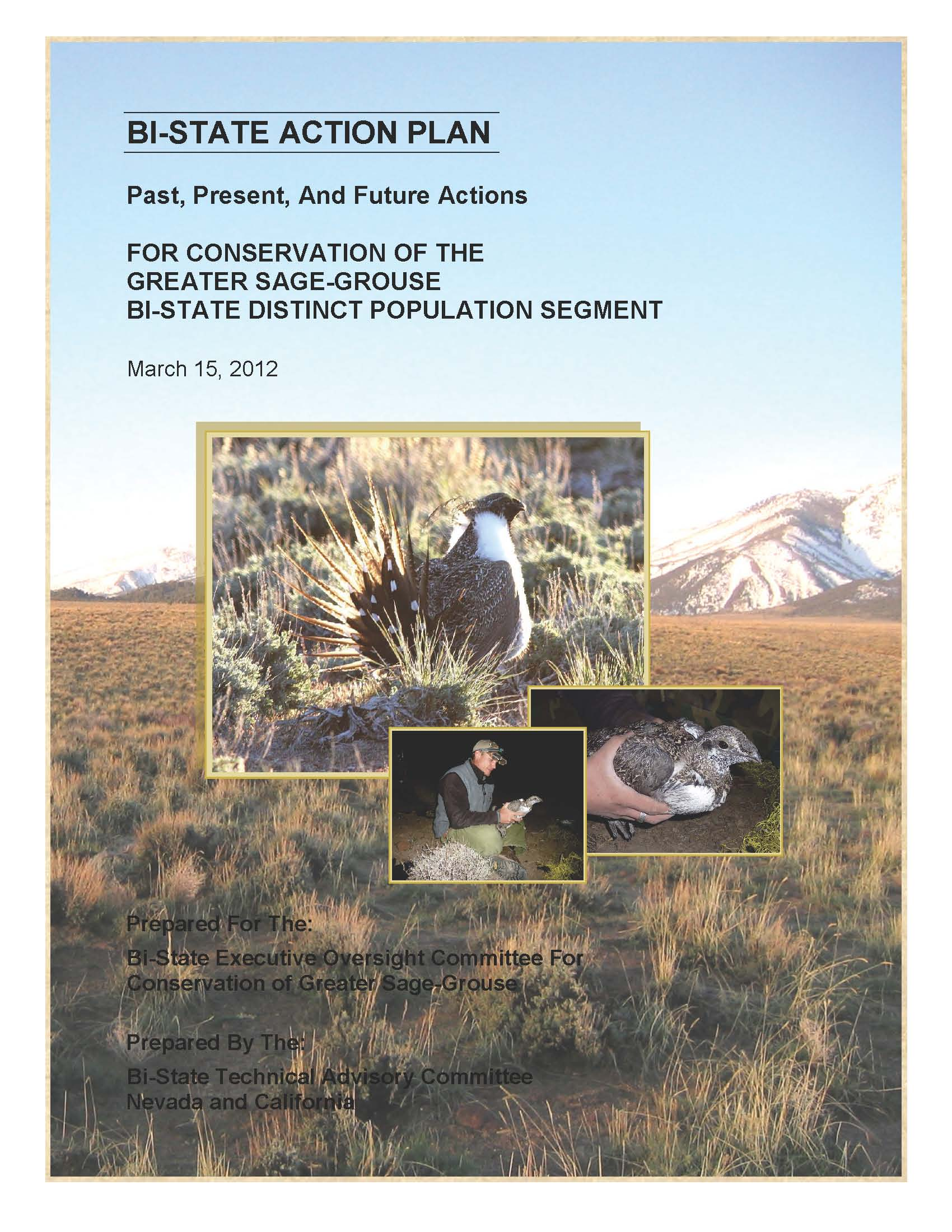 Bi-State Action Plan Cover Photo