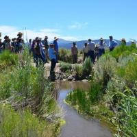 Bi-State Local Area Working Group collaborates with new Nevada state park to balance people and wildlife