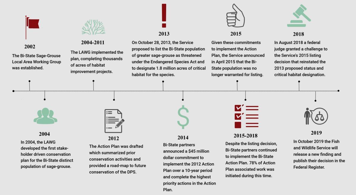 Conservation history timeline
